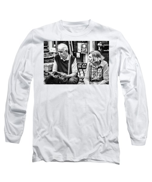 Tourists In Sicily Long Sleeve T-Shirt