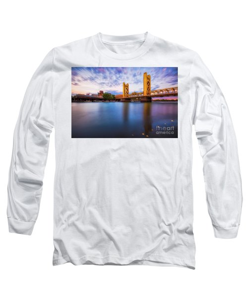 Tower Bridge Sacramento 3 Long Sleeve T-Shirt
