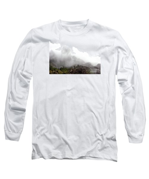 Long Sleeve T-Shirt featuring the photograph Watch The Clouds Roll By by Dana DiPasquale