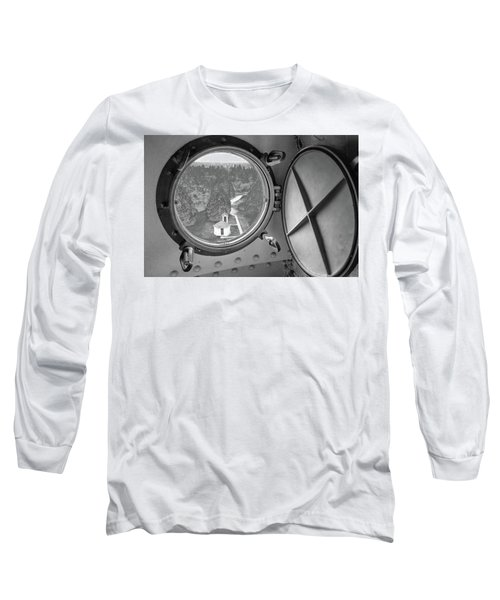 Long Sleeve T-Shirt featuring the photograph Tower View by Janice Adomeit