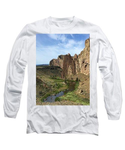 Towering Smith Rocks Long Sleeve T-Shirt