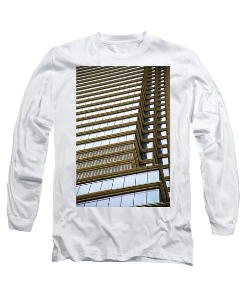 Long Sleeve T-Shirt featuring the photograph Towering Windows by Karol Livote