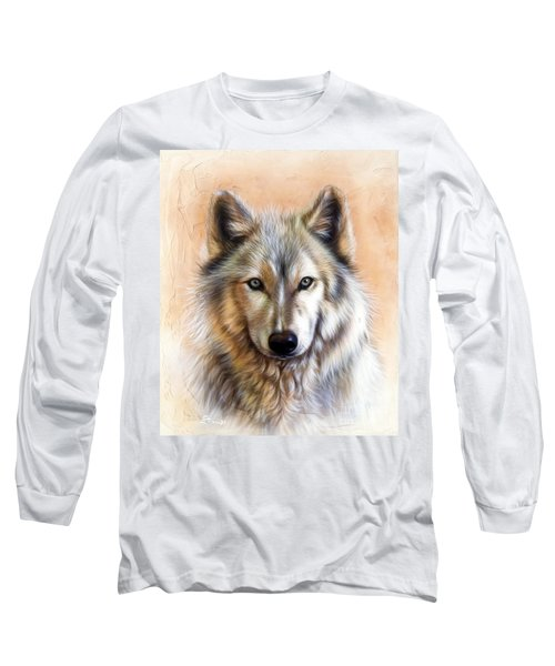 Trace Two Long Sleeve T-Shirt by Sandi Baker
