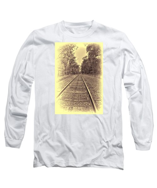 Tracks Through The Park Long Sleeve T-Shirt