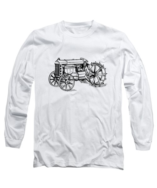 Tractor 1919 Henry Ford T-shirt Long Sleeve T-Shirt