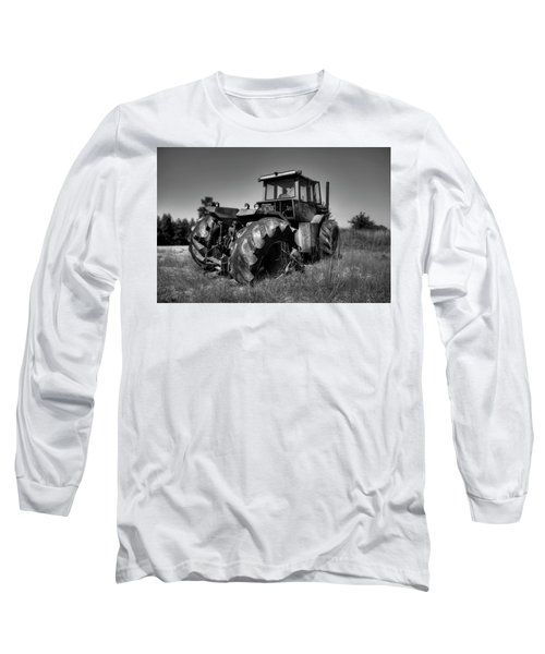 Tractor In The Countryside Long Sleeve T-Shirt