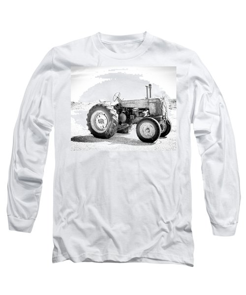 Long Sleeve T-Shirt featuring the photograph Tractor by Silvia Bruno