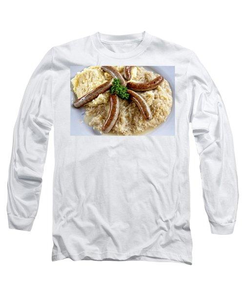 Traditional German Food Long Sleeve T-Shirt