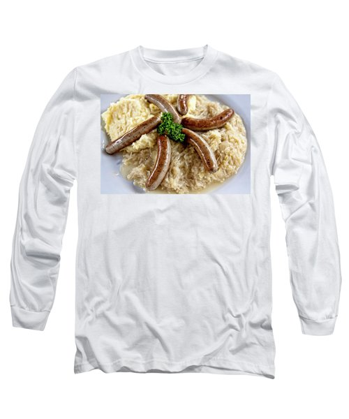 Traditional German Food Long Sleeve T-Shirt