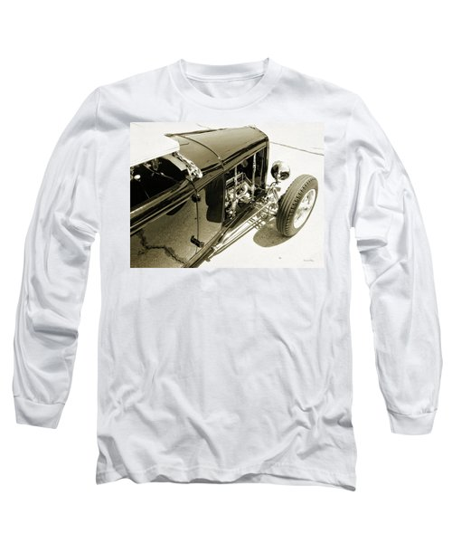 Traditional Roadster Bw Long Sleeve T-Shirt