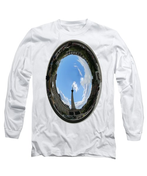Trafalgar Square Oval Long Sleeve T-Shirt by Roger Lighterness