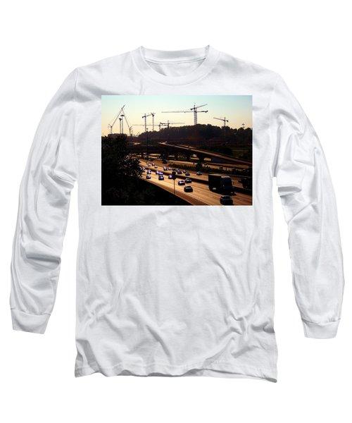 Traffic And Cranes Long Sleeve T-Shirt