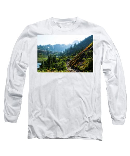 Trail In Mountains Long Sleeve T-Shirt