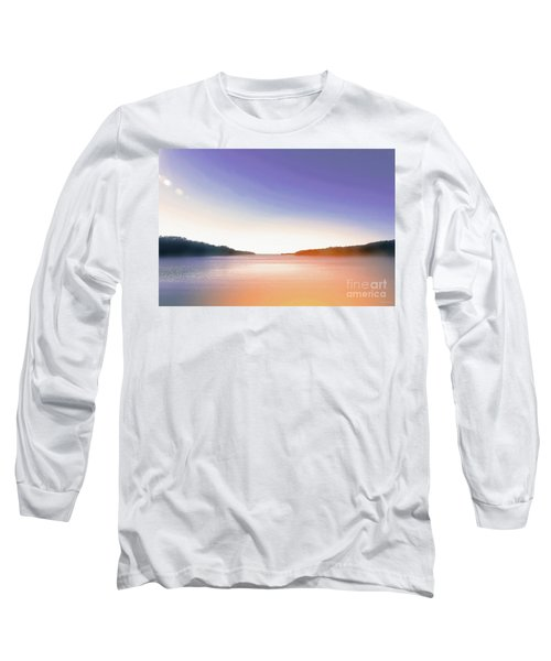 Tranquil Afternoon At The Lake Long Sleeve T-Shirt
