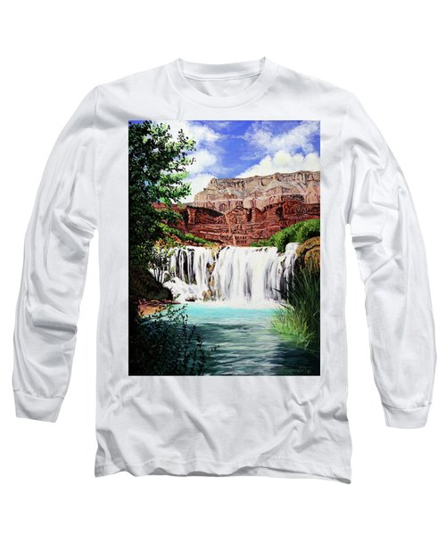 Tranquility In The Canyon Long Sleeve T-Shirt