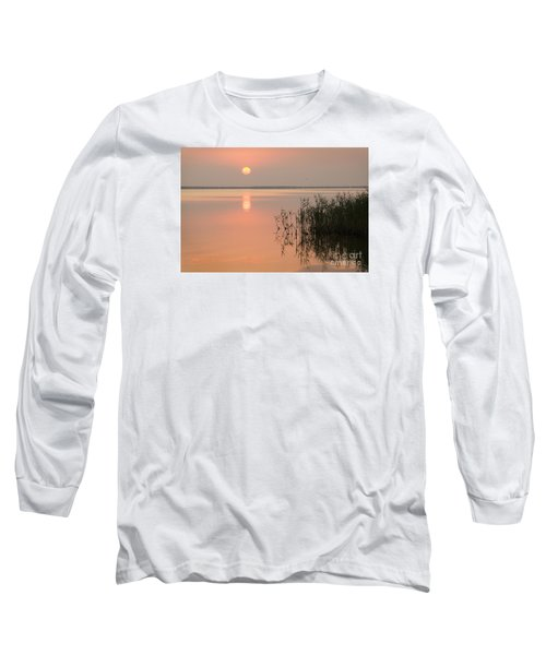 Long Sleeve T-Shirt featuring the photograph Tranquility by Inge Riis McDonald