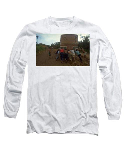 Trans Amazonian Highway, Brazil Long Sleeve T-Shirt