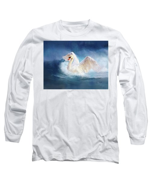 Transcendence Long Sleeve T-Shirt by Colleen Taylor