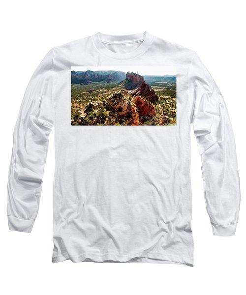 Transept Mountains 04-089 Long Sleeve T-Shirt by Scott McAllister