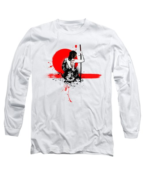 Trash Polka - Female Samurai Long Sleeve T-Shirt
