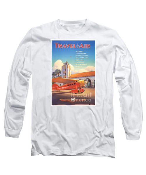 Travel By Air Long Sleeve T-Shirt