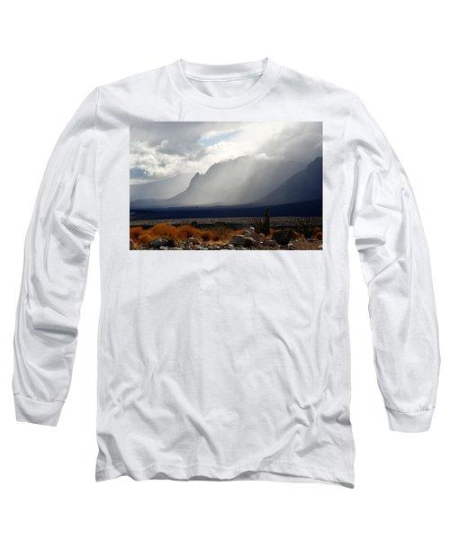 Tread Lightly Long Sleeve T-Shirt by John Glass