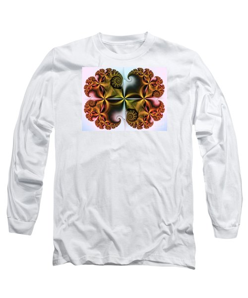 Long Sleeve T-Shirt featuring the digital art Treasure by Karin Kuhlmann