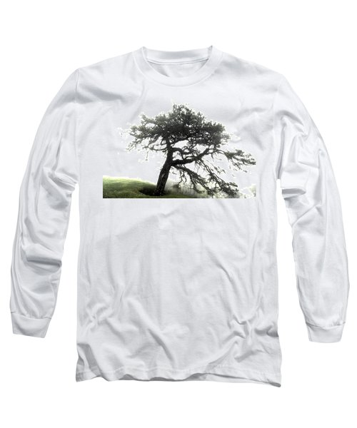 Long Sleeve T-Shirt featuring the photograph Tree by Alex Grichenko