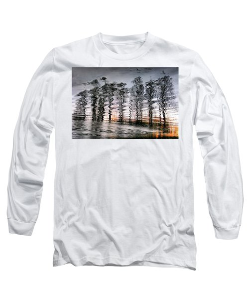Tree And Reflection Long Sleeve T-Shirt