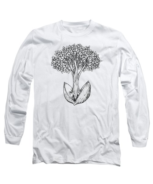 Tree From Seed Long Sleeve T-Shirt