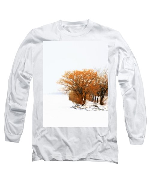 Tree In The Winter Long Sleeve T-Shirt