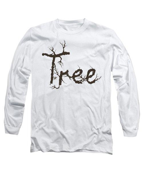 Tree Long Sleeve T-Shirt by Martina Fagan