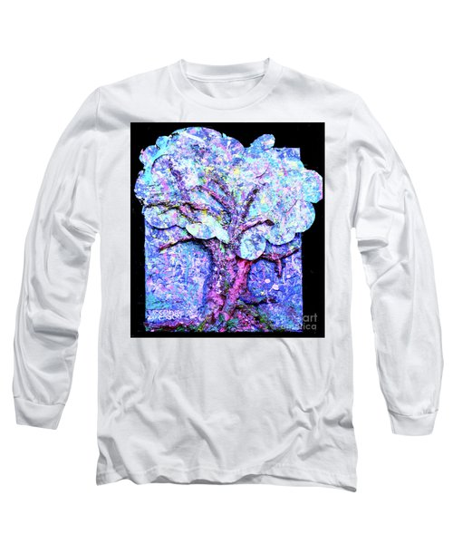 Long Sleeve T-Shirt featuring the painting Tree Menagerie by Genevieve Esson