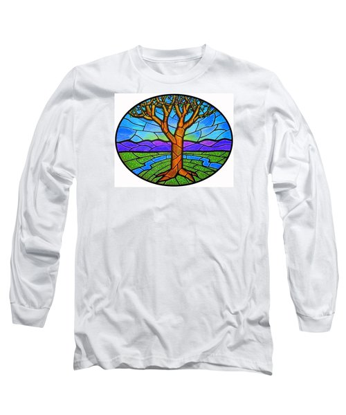 Tree Of Grace - Spring Long Sleeve T-Shirt by Jim Harris