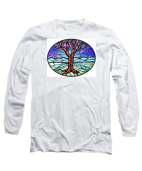 Tree Of Grace - Winter Long Sleeve T-Shirt by Jim Harris