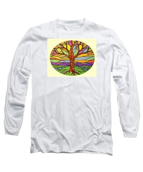 Tree Of Grace 2 Long Sleeve T-Shirt by Jim Harris
