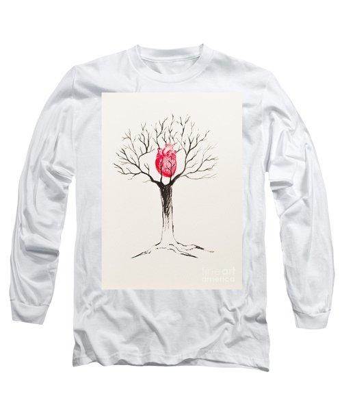 Tree Of Hearts Long Sleeve T-Shirt
