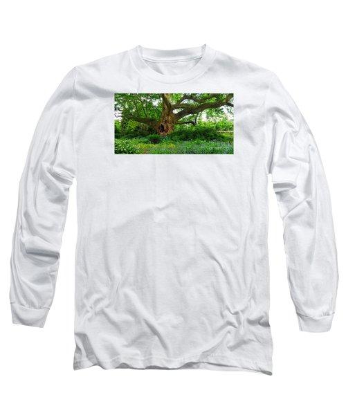 Tree Of Life Long Sleeve T-Shirt by Christian Slanec