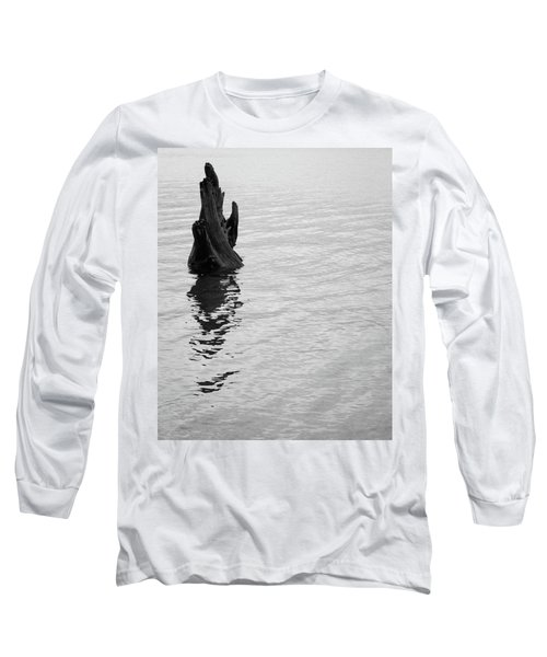 Tree Reflections, Rest In The Water Long Sleeve T-Shirt