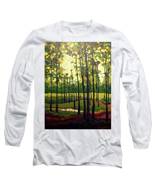Treecentric Summer Glow Long Sleeve T-Shirt