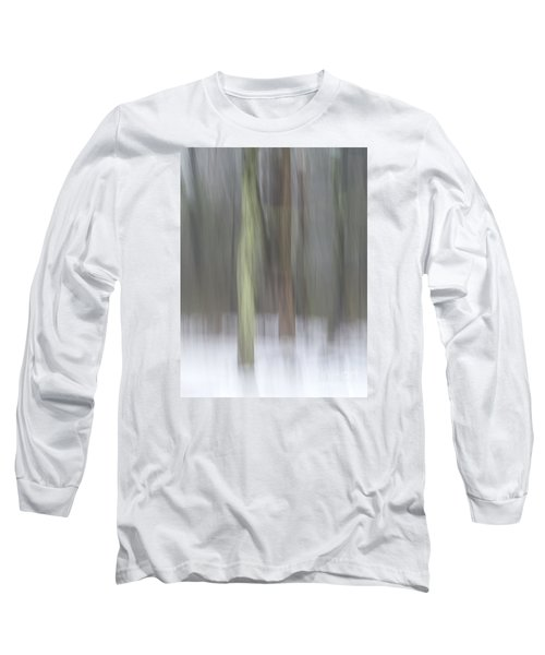 Trees In Fog II Long Sleeve T-Shirt