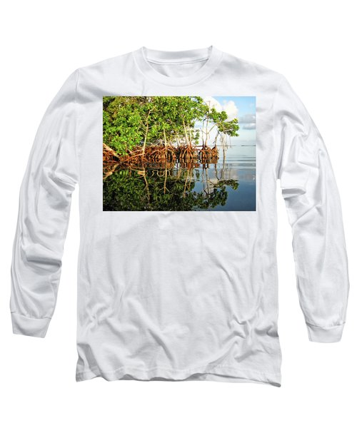 Trees In The Sea Long Sleeve T-Shirt