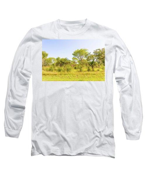 Trees In Zambia Long Sleeve T-Shirt