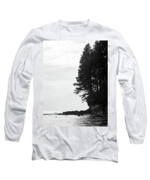 Trees Over The Ocean Long Sleeve T-Shirt