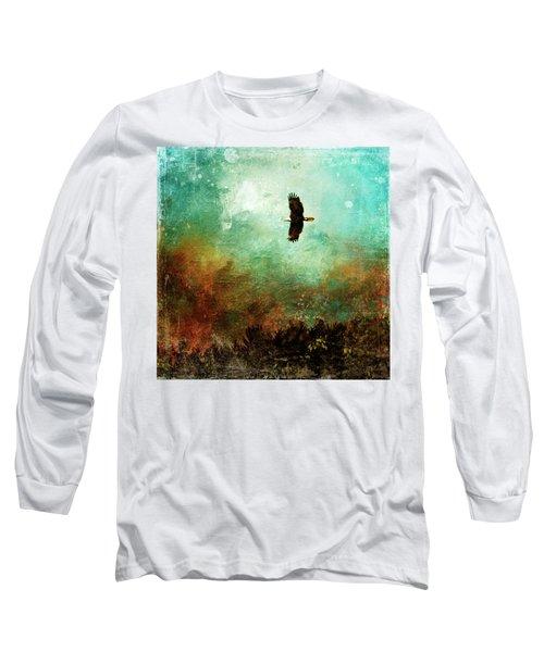 Treetop Eagle Flight Long Sleeve T-Shirt