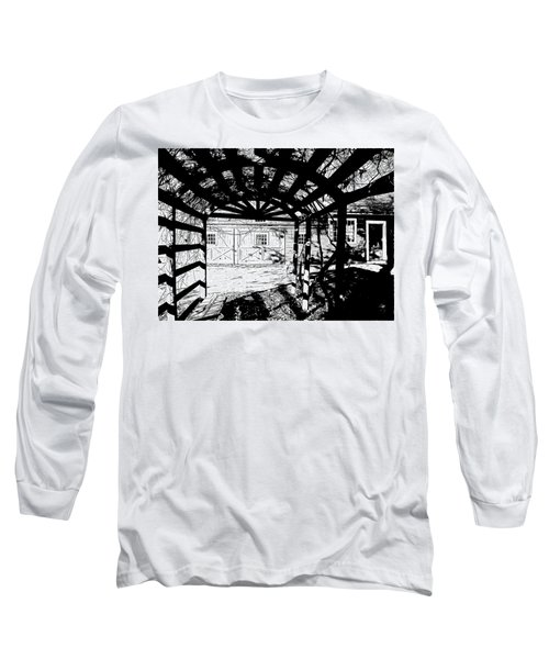 Trellis Pov Long Sleeve T-Shirt by Betsy Zimmerli