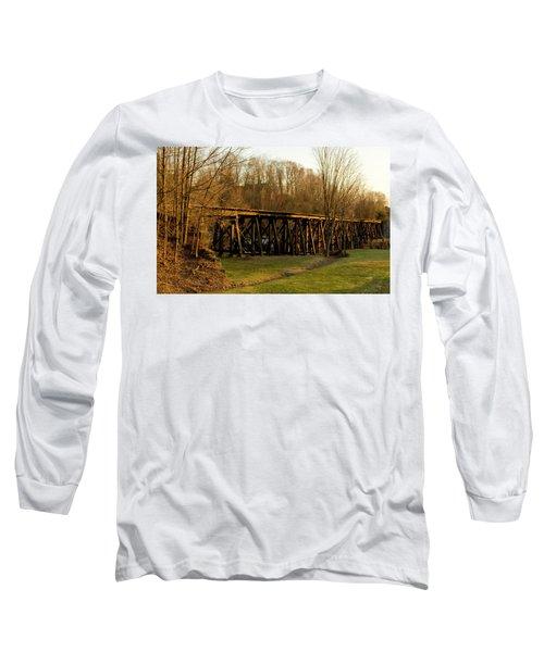 Tressel View Sunset  Long Sleeve T-Shirt
