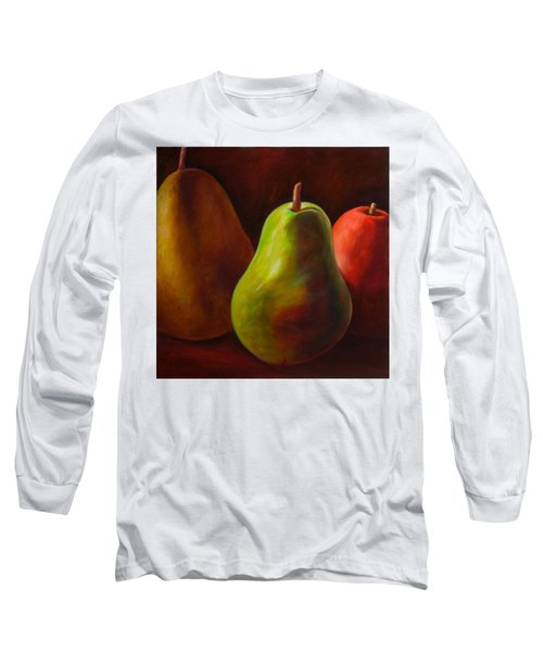 Tri Pear Long Sleeve T-Shirt