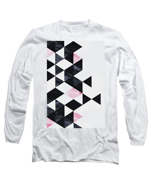 Triangle Geometry Long Sleeve T-Shirt