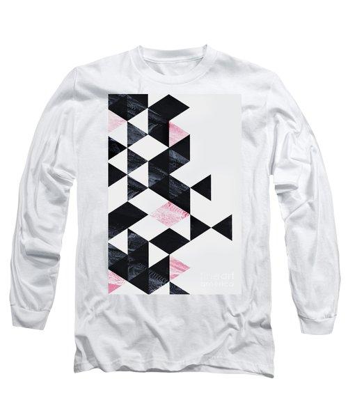 Triangle Geometry Long Sleeve T-Shirt